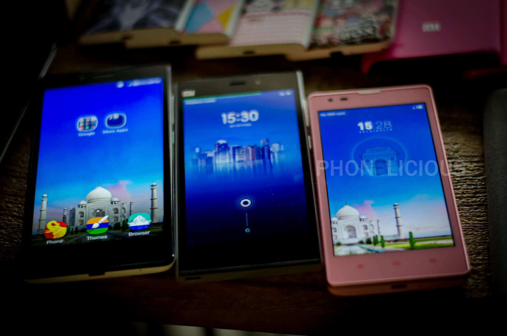 RedMI 1s compared to other Snapdragon 400 chipset mobiles